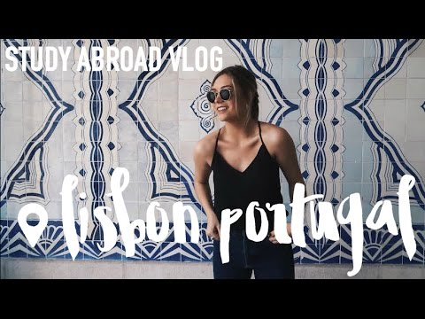 My Fav City in Europe! Lisbon, Portugal | Study Abroad VLOG