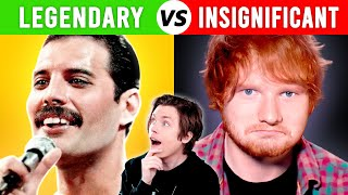 Legendary VS Insignificant Singers