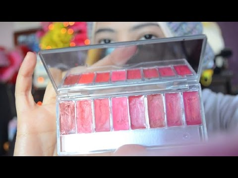 review-wardah-red-lip-pallete-&-exclusive-lipstick