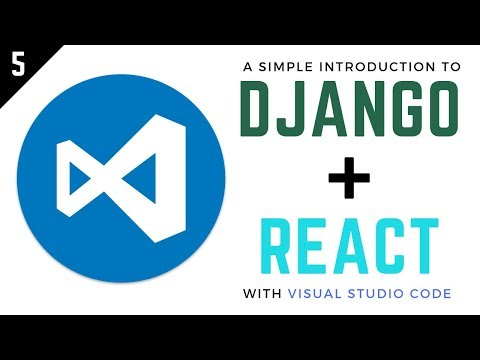Django and React Tutorial // 5 - How to authenticate requests with tokens thumbnail