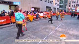 Barynya at Today NBC Show - Russian Dance Kalinka