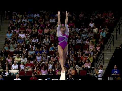 Bridget Sloan - Balance Beam - 2008 Visa Championships - Women - Day 2