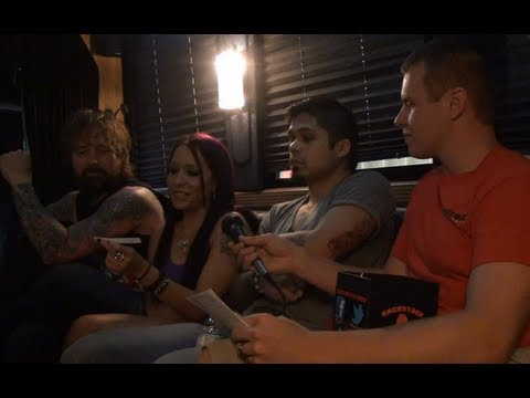 Drowning Pool Interview in Lincoln, NE - Backstage Entertainment