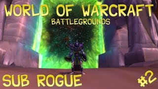 World Of Warcraft_Rogue BG Highlights #3 PandaWoW