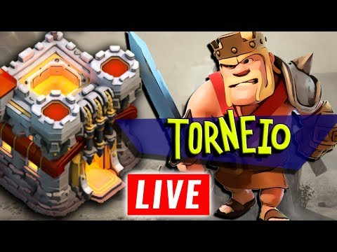 AO VIVO TORNEIO DE CV11 :: CLASH OF CLANS