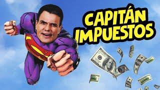 SÚPER SÁNCHEZ (Capitán Impuestos) | La subida de impuestos de PEDRO SÁNCHEZ | Dragon Ball Z PARODIA
