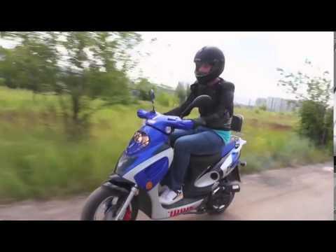 Видео Скутер IRBIS Z50R