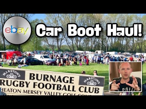 Burnage Rugby Club Manchester Car Boot Sale IS BACK!! Haul Video