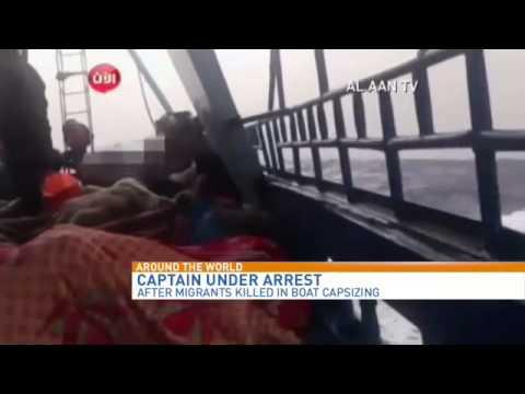 Captain under arrest after migrants killed in boat capsizing