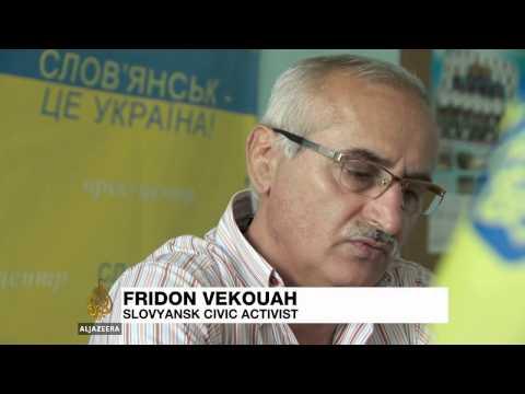 Ukraine's Slovyansk residents rebuild lives