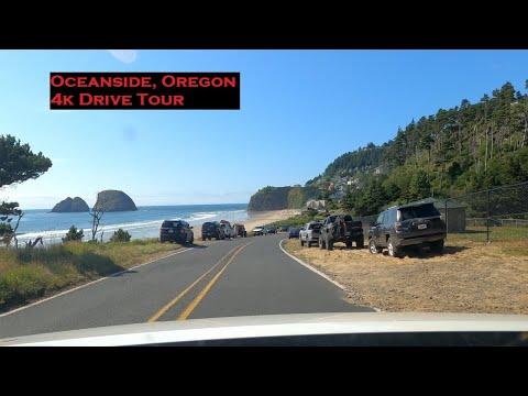 Oceanside, Oregon | 4k Driving Tour | Pacific Coast Drives