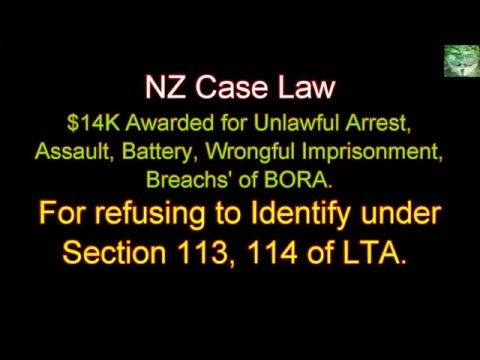NZ Case Law - Wright v Bhosale Police and Attorney General - No ID