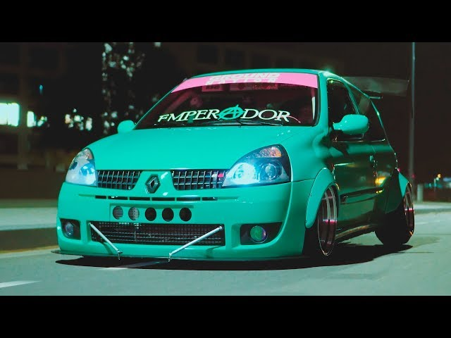 @badass_clio - BAGGED WIDEBODY MINTY & STATIC CLIO RS - 4K