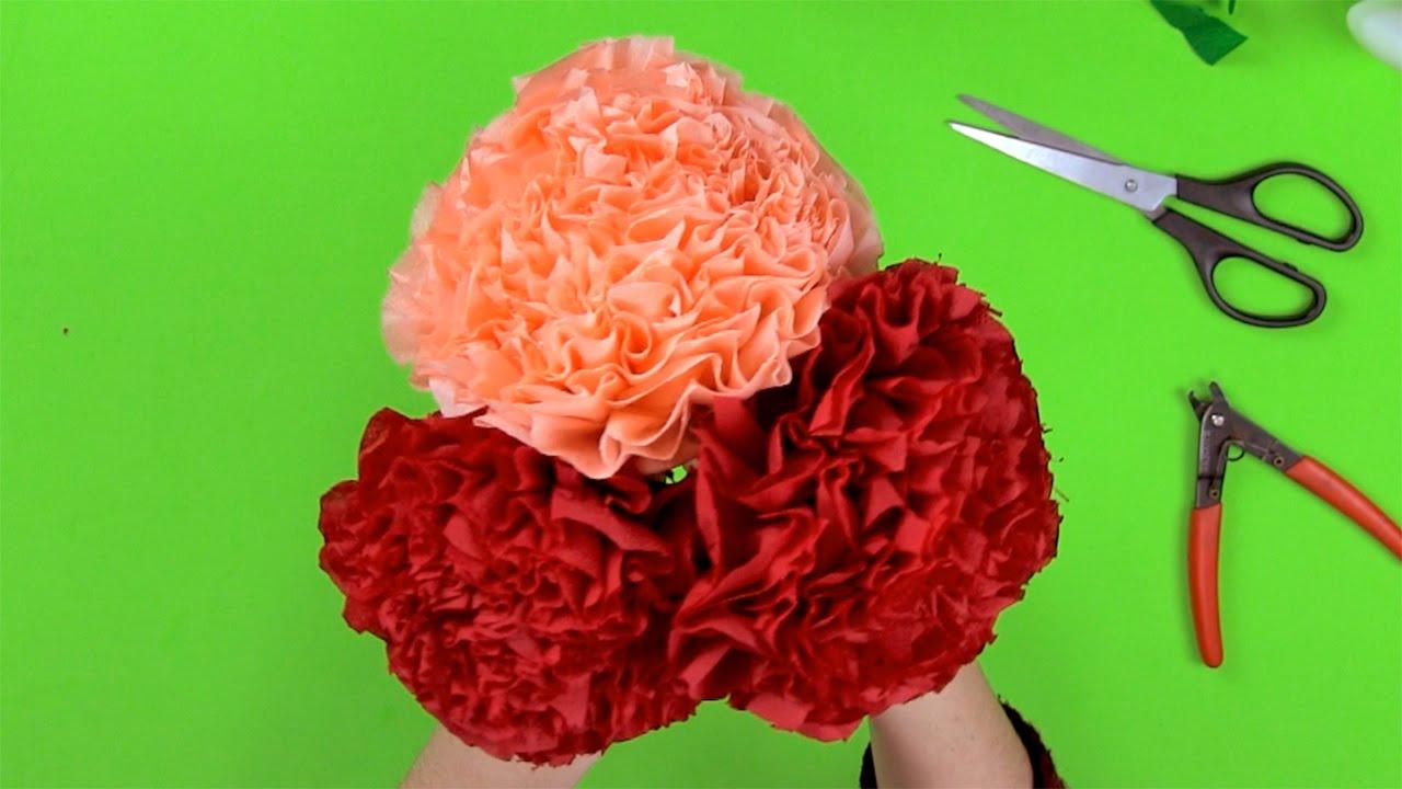 C mo hacer un ramo de flores con servilletas de papel - Www como hacer flores com ...