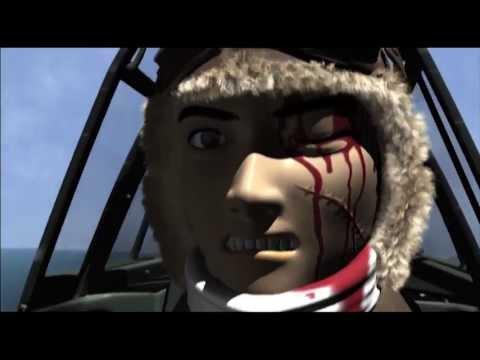 戦闘機空中戦:紫電vsヘルキャット WW2 Dogfight:N1K1-J Kawanishi  SHIDEN 'George' vs F6F Grumman Hellcat