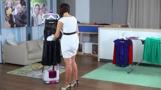 видео Как пользоваться отпаривателем для одежды