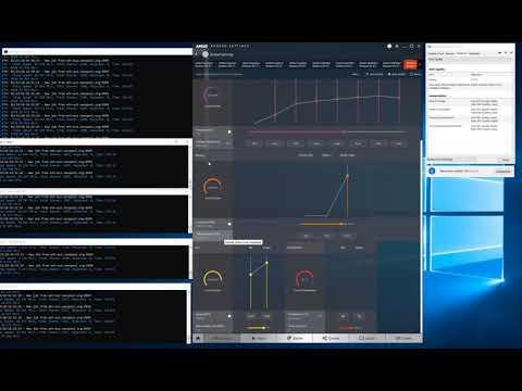 Sapphire RX570 4GB ITX Etherium Mining max 30.2 MHS