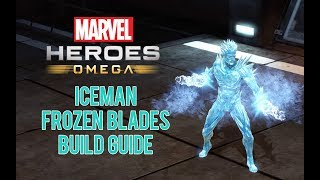 Showcase of my Iceman 'Frozen Blades' build for Marvel Heroes Omega...
