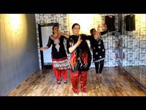 Brobar boli , Nimrat khaira , ladies bhangra, easy and basic steps,THE DANCE MAFIA