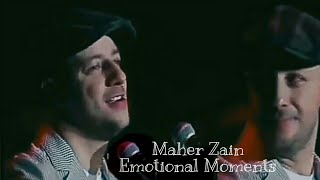 Maher Zain - Crying Moment | Maher Zain Malaysia Concert Emotional Moments | Palestine Will Be Free