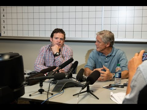 General Manager John Schneider & Head Coach Pete Carroll Draft Day 1 Press Conference