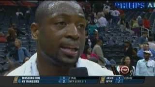 Dwyane Wade 33 points game 2 round 1 vs Atlanta Hawks 2009 NBA playoffs