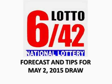 PCSO 6/42 Lotto Tips And Forecast For May 2, 2015
