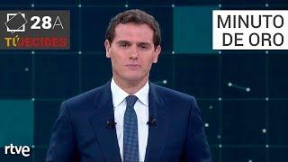 Minuto de oro de Albert Rivera | Debate en RTVE