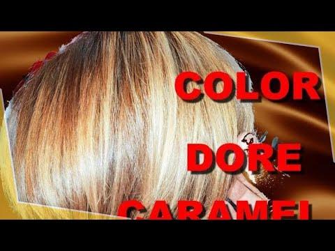 couleur miel dorée cuivré marron avec effet ombré B