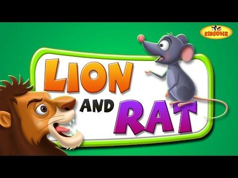 Lion And Rat Moral Story   Bedtime Inspirational Story For Kids - KidsOne
