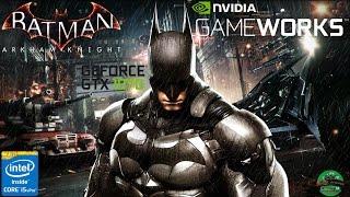 Batman Arkham Knight i5-4690 & GTX1070 GAMING X MAX SETTINGS FRAME-RATE TEST