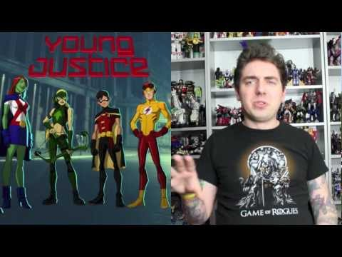 Young Justice Invasion Series Finale & Series Overview Cartoon Review