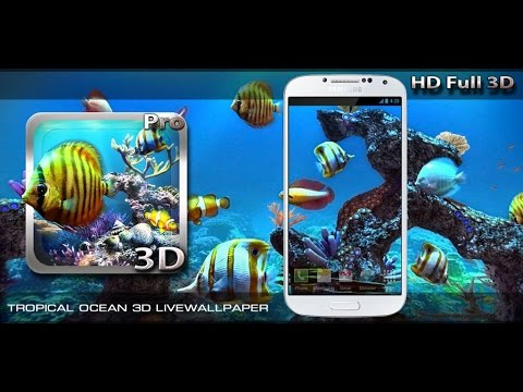 Tropical Ocean 3D Livewallpaper
