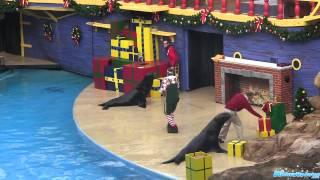 Clyde and Seymour Countdown To Christmas SeaWorld Orlando