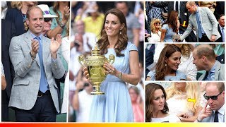 Kate Middleton and Prince William returned Romantic in the men's singles Wimbledon Final