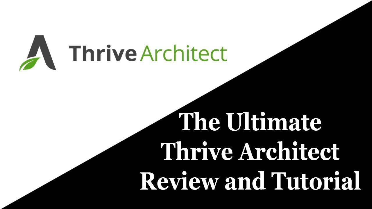 Clickfunnels? Forget About It? Thrive Architect Short Review 2018-2019