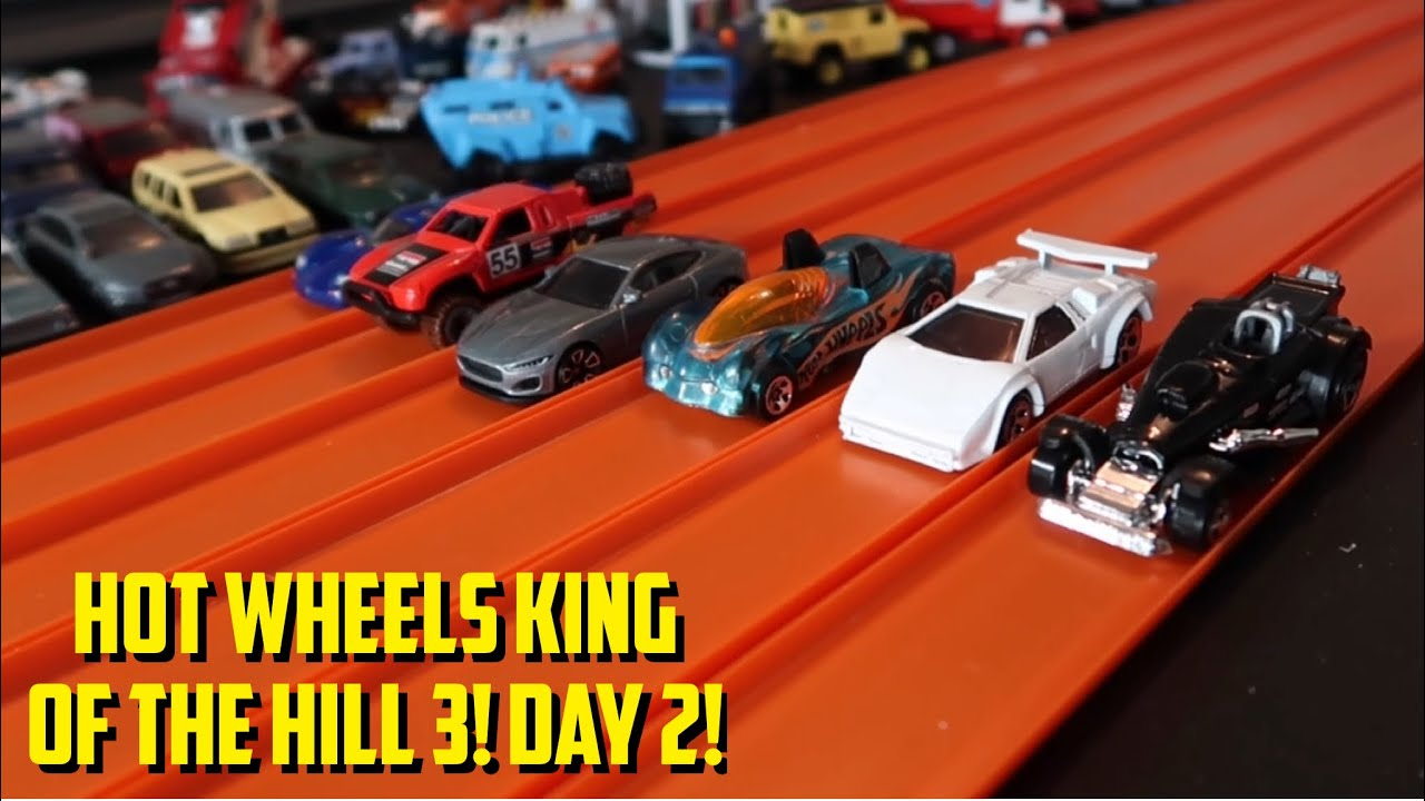 HOT WHEELS KING OF THE HILL 3! (2021) - DAY 2! HOT WHEELS DIECAST DRAG RACING TOURNAMENT!