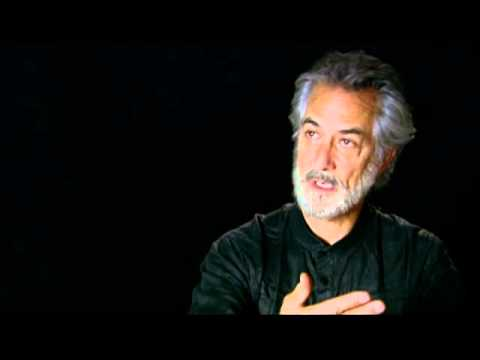 with David Strathairn for The Tempest