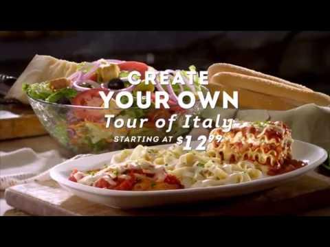 OLIVEGARDEN TOUR OF ITALY