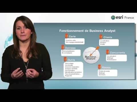 Business Analyst la nouvelle solution Esri pour le Géomarketing
