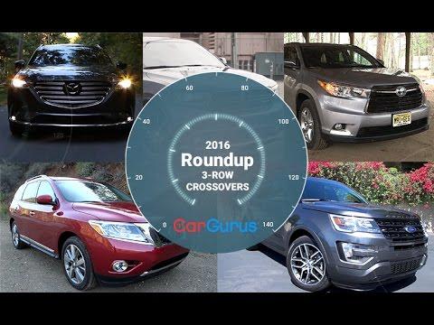 Best Crossover SUV 2016 | CarGurus 3-Row Crossover Roundup