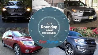 Best Crossover SUV 2016 | CarGurus 3-Row Crossover Roundup