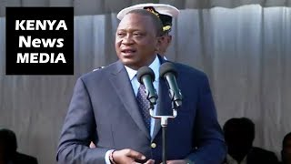 President Uhuru Kenyatta explains why EXAMS are done in MILITARY STYLE!!