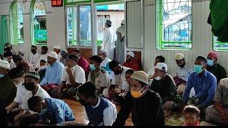 Suasana Sholat Idul Fitri Di Masjid Terapung Manokwari || Silaturahmi, Makan Coto