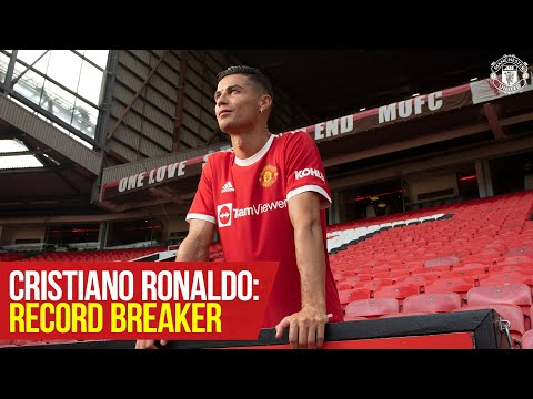 Cristiano Ronaldo: break records |  The numbers behind an incredible race |  United manchester