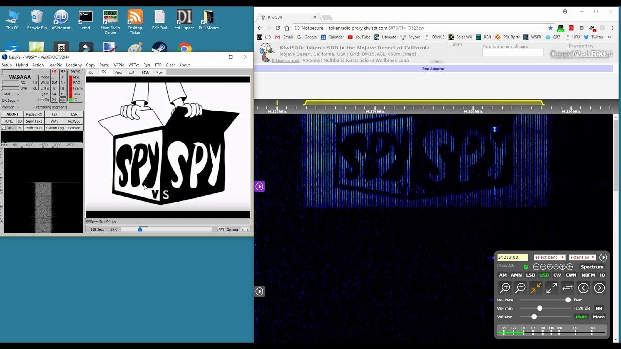 radio sstv Amateur digital