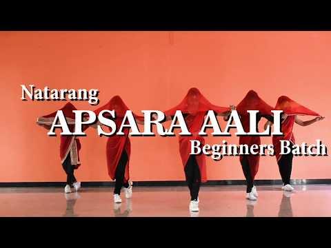 Natarang : Apsara Aali|  Lavni Dance for Beginners | Santosh Kadlag Choreography