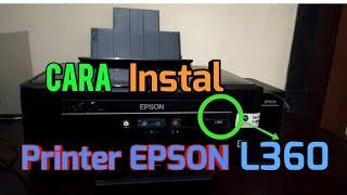 Gambar cover Cara instal printer EPSON L360, Tutorial 2018 | cara install Printer, Tutorial