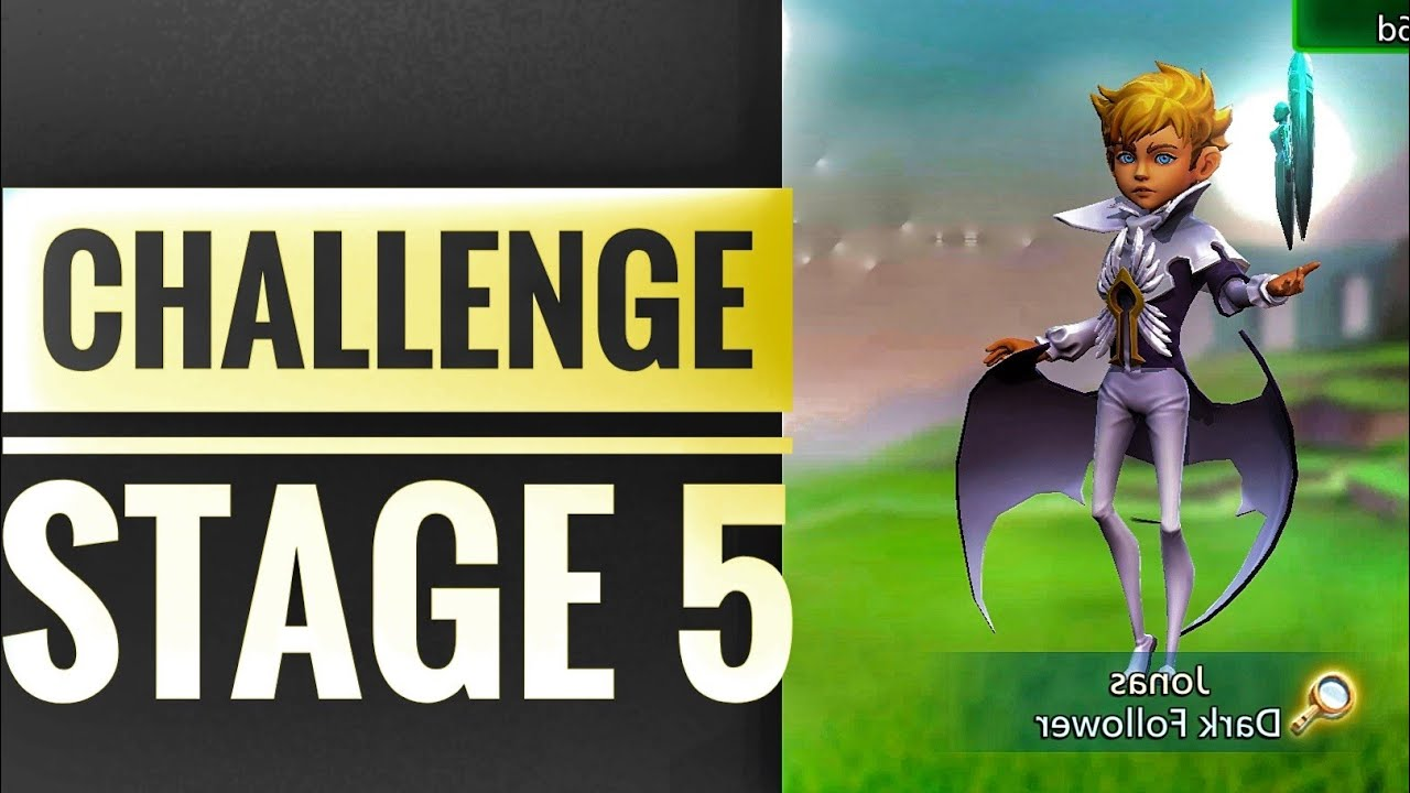 Lords Mobile - Dark Follower Limited challenge Stage 5