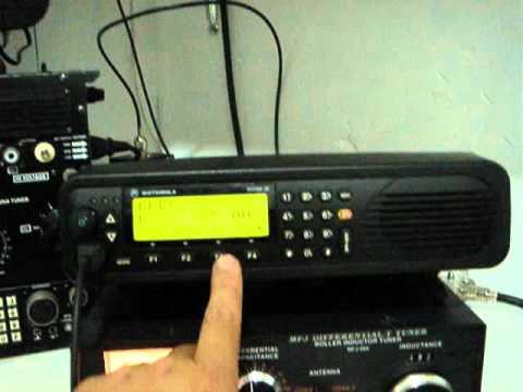 Motorola Micom 2E HF Ruggedized Commercial/Military HF SSB Radio by XE1XNP